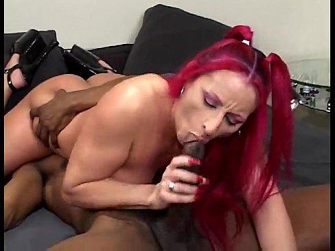 Porn raven black interracial